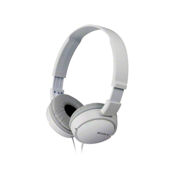 Sony mdrzx110w blanco auriculares de diadema dinámico cerrado jack en 90 grados