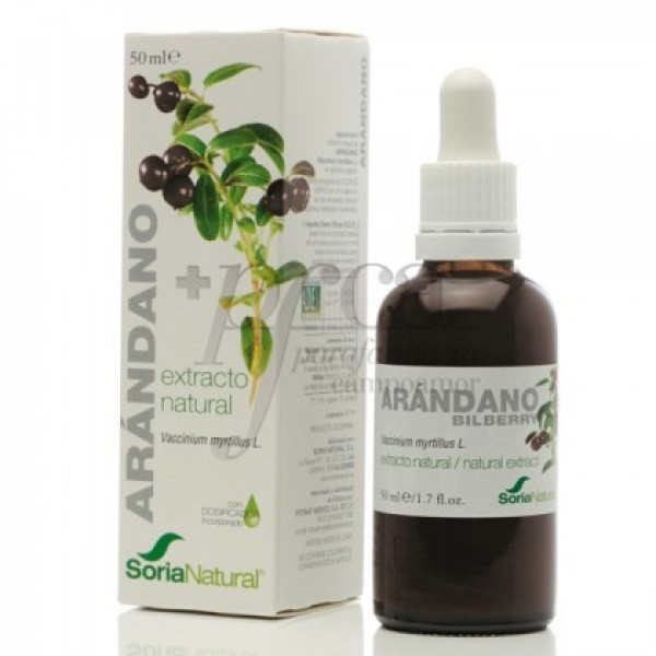 SORIA NATURAL ARANDANO EXTRACTO NATURAL 50ML