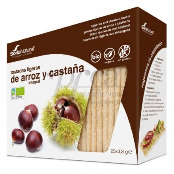 BIO TOSTADAS DE ARROZ Y CASTAÑA 25U R80503