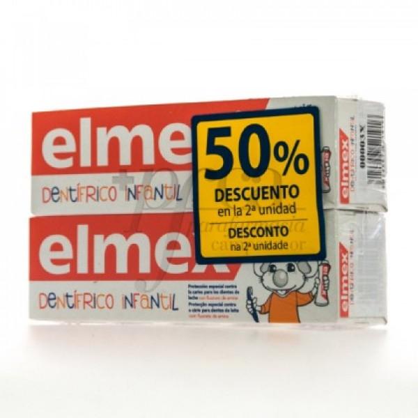 ELMEX DENTIFRICO INFANTIL 2X 50ML PROMO