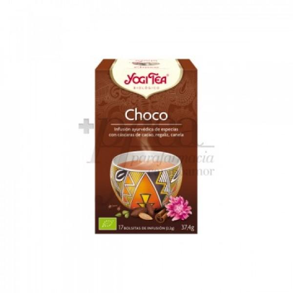 YOGI TEA CHOCO 17 BOLSITAS