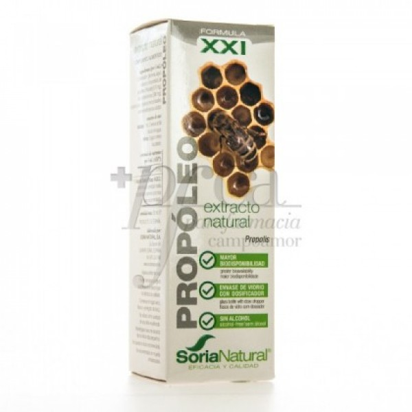 PROPOLEO XXI EXTRACTO NATURAL 50ML SORIA NATURAL