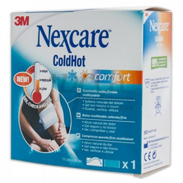 NEXCARE COLDHOT COMFORT 1 U 11 X 26 CM