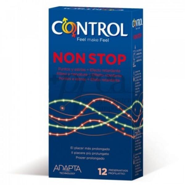 CONTROL  NON STOP 12 PRESERVATIVOS