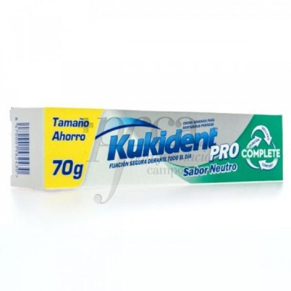 KUKIDENT COMPLETE 70G SABOR NEUTRO
