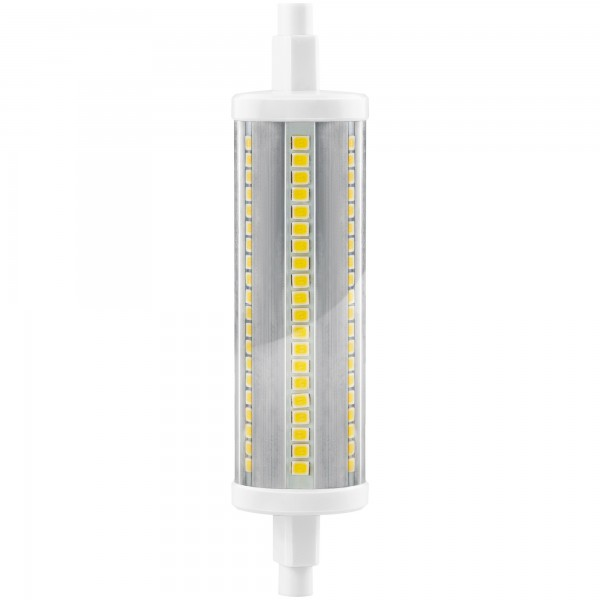 Bomb.led r7s 180º 29x118mm. 16w.neutra