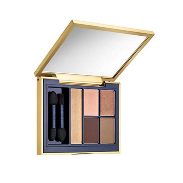 Estee lauder pure color envy sculpting eyeshadow 5 color palette 05 fiery saffron
