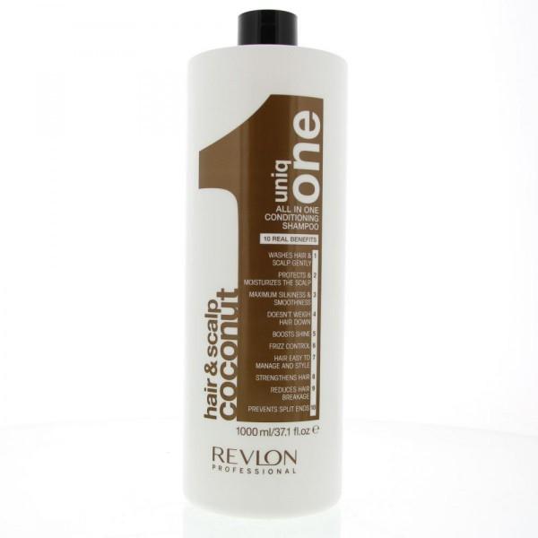 Revlon uniq one hair&scalp coconut all in one conditioning shampoo 1000ml