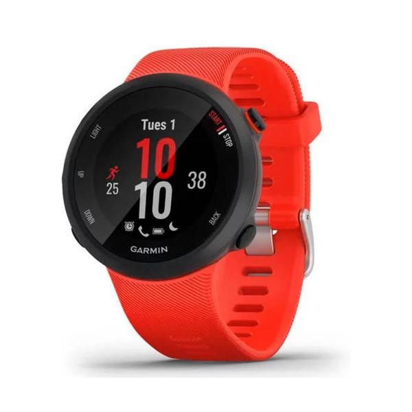 Garmin forerunner 45 42mm rojo reloj inteligente de running con gps y monitor de frecuencia cardíaca