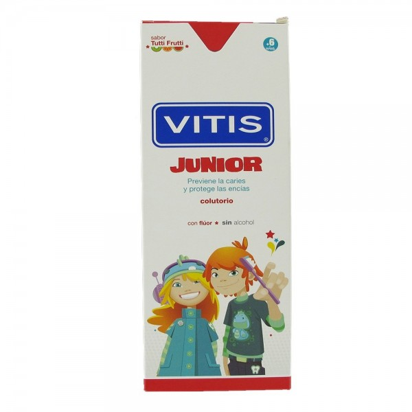 VITIS JUNIOR COLUTORIO S/ALC. TUTTI FRUTTI 500ML