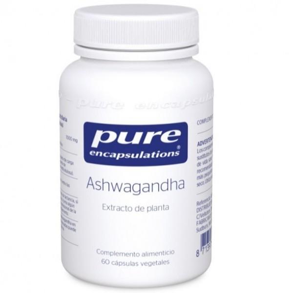 PURE ENCAPSULATIONS ASHWAGANDHA 60 CAPS