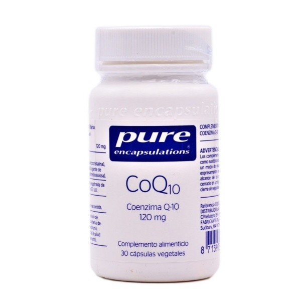 PURE ENCAPSULATIONS COQ10 30 CAPS