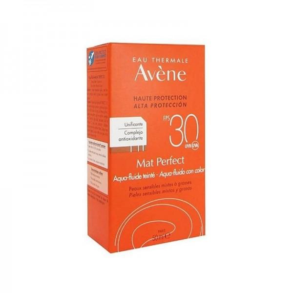 AVENE MAT PERFECT AQUA FLUIDO CON COLOR SPF30+ 50 ML
