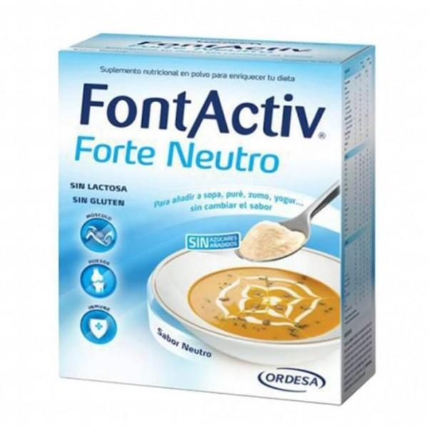 FONTACTIV FORTE 30 G 10 SOBRES NEUTRO