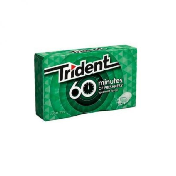 TRIDENT 60 MINUTES HIERBABUENA S/A