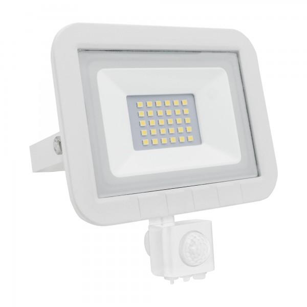 Proyector led sensor plano blanco  20w.f